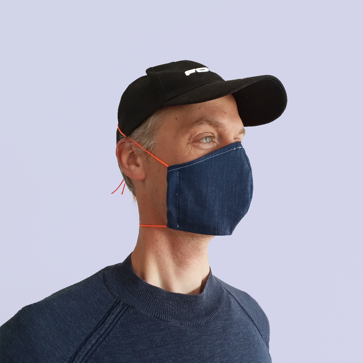 Washable Mouth-and-nose mask man